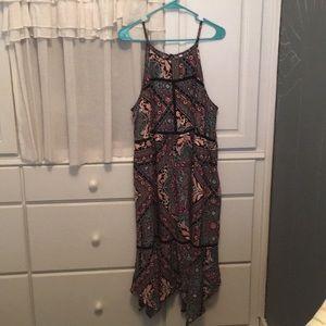 Multicolor Midi dress target size XL